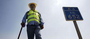 Foto: El 'Quijote' de los autónomos, a diez días de plantarse en la Moncloa