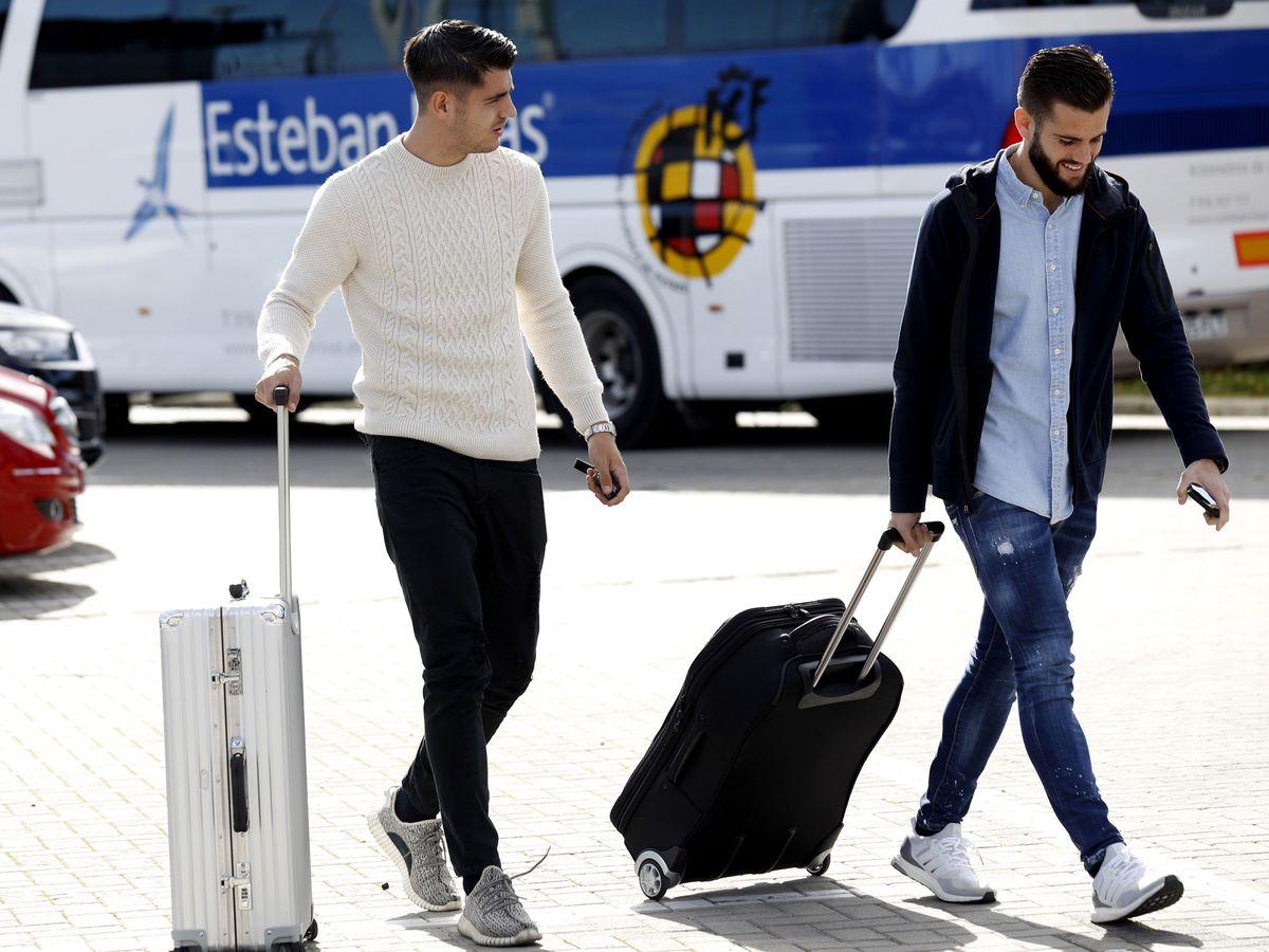 Foto: Álvaro Morata y Nacho, propietarios de Manolo Bakes. (EFE)