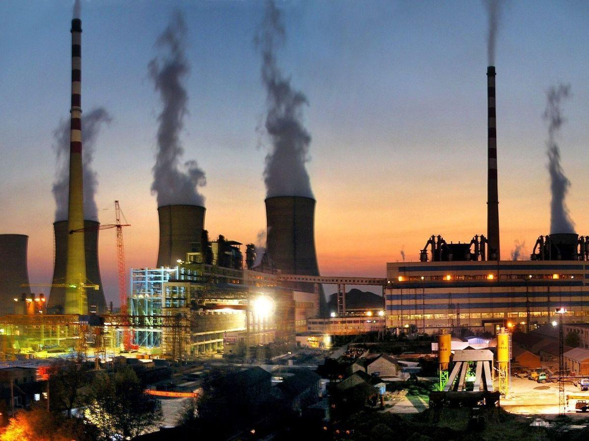 Foto: Una central de carbón en China. (EFE)