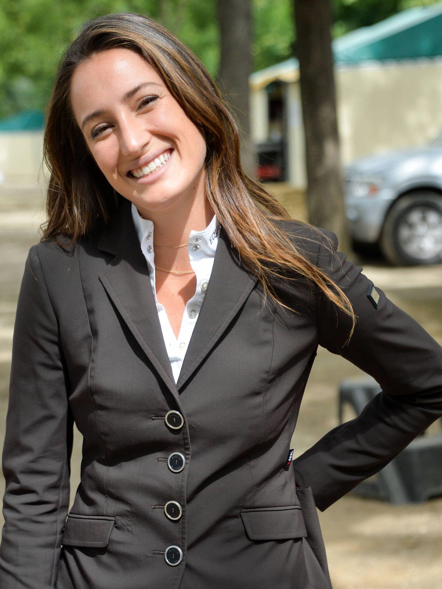 Jessica Springsteen, durante el CSI de París de año pasado. (Gtres)