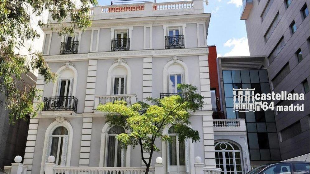 Foto: Palacete situado en el Paseo de la Castellana y adquirido por los ex dueños de Caprabo por 13,5 millones