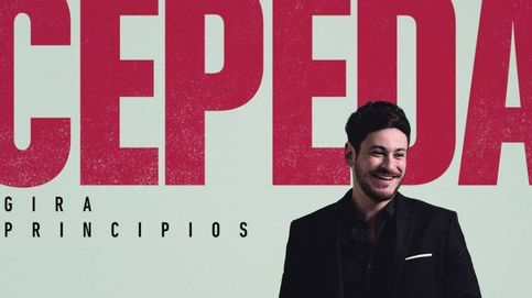 Cepeda confirma su gira 'Principios' con la resaca de su beso con Aitana