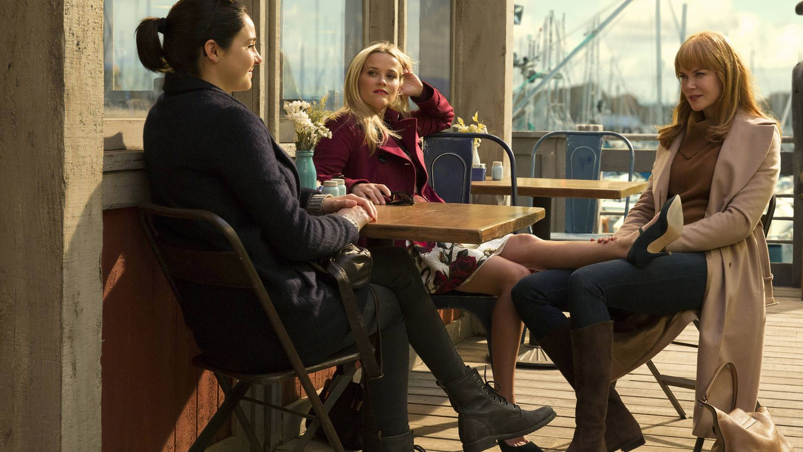 Foto: Las tres actrices principales de 'Big Little Lies'