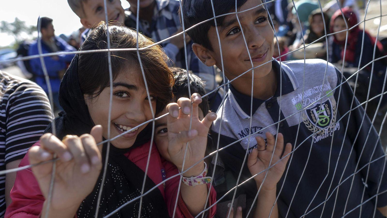 Foto: La Policía húngara ha comenzado a detener a los refugiados ilegales (EFE)