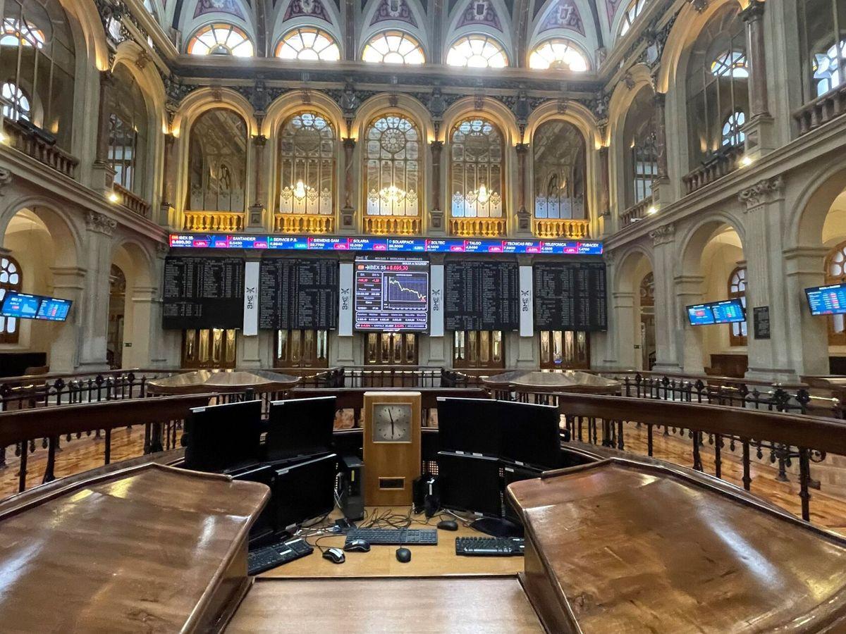 Foto: Imagen de la bolsa española. (EFE)