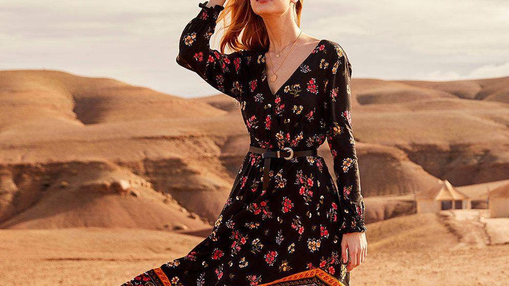 El vestido 'new in' de Springfield de inspiración marroquí y que estiliza como pocos