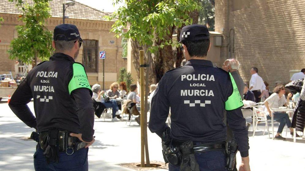 Foto: La Policía Local de Murcia tuvo que acudir al lugar de los hechos urgentemente