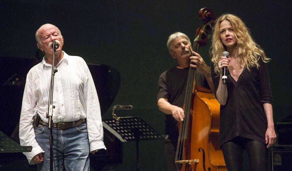 Foto: Gino Paoli y Christina Rosenvinge en La Mar de Músicas (EFE)