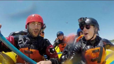 Ricciardo y Verstappen se lanzan al agua en Canadá