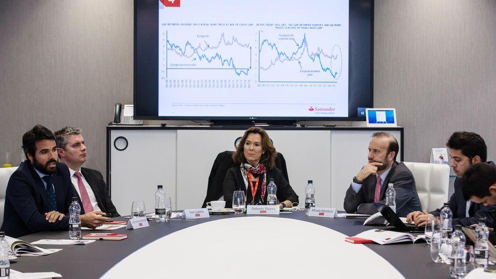 Foto: Dolores Ybarra, directora de inversiones de Santander Asset Management.