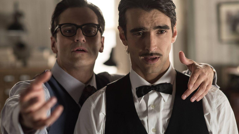 Foto: Los personajes de 'Velvet' Raúl de la Riva y Humberto