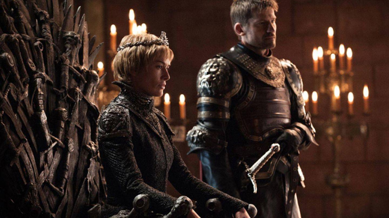 Imagen del primer capítulo de la séptima temporada con Cersei y Jaime mostrando sus diferencias