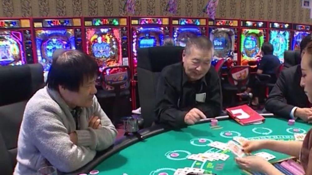Foto: Usuarios del centro de día 'Las Vegas' en Yokohama (CNN)