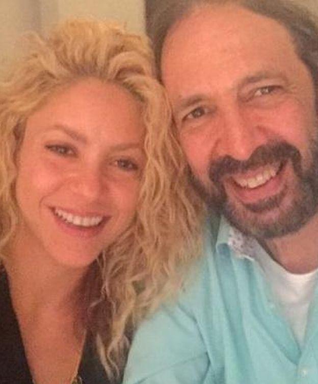 Foto: Shakira y Juan Luis Guerra en una imagen de Twitter