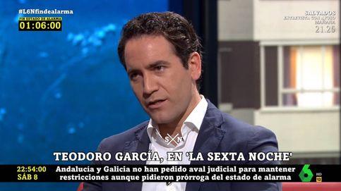 Teodoro García Egea descoloca a Iñaki López con este regalo en 'La Sexta noche'