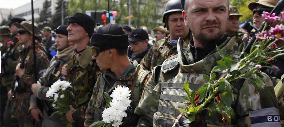 Foto: En el frente de Donétsk