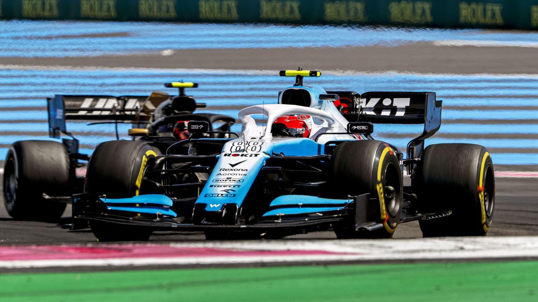 Robert Kubica al volante del Williams en Francia. (EFE)