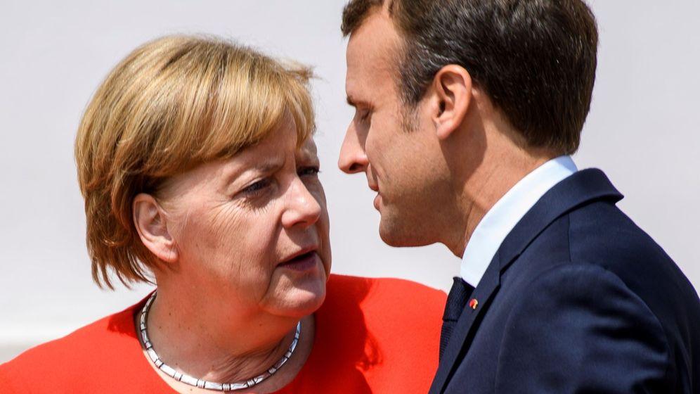 Foto: Reunión ministerial alemania-francia