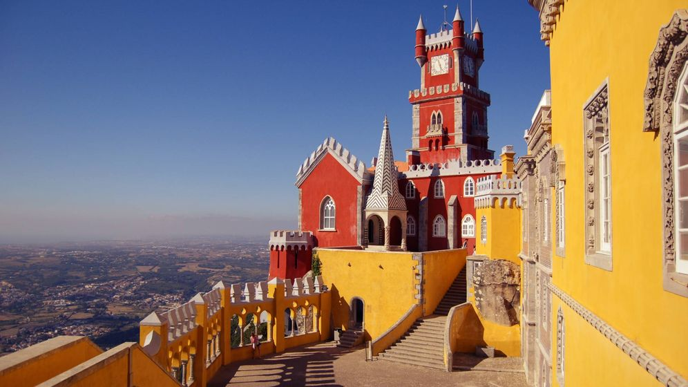Foto: El Palácio Nacional da Pena de Sintra, realmente un sueño. (Chris Barbalis para Unsplash)
