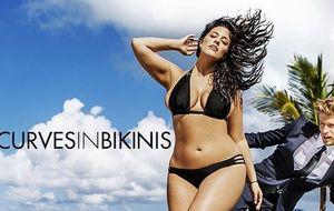 Ashley Graham, la primera modelo de tallas grandes de la revista Sports Illustrated