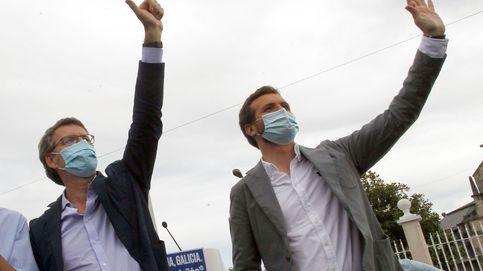 El PP anticipa la mayoría absoluta de Feijóo y el desplome de Iglesias el 12-J