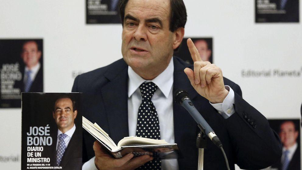 José Bono presenta libro arropado por la cúpula del PSOE y Gallardón