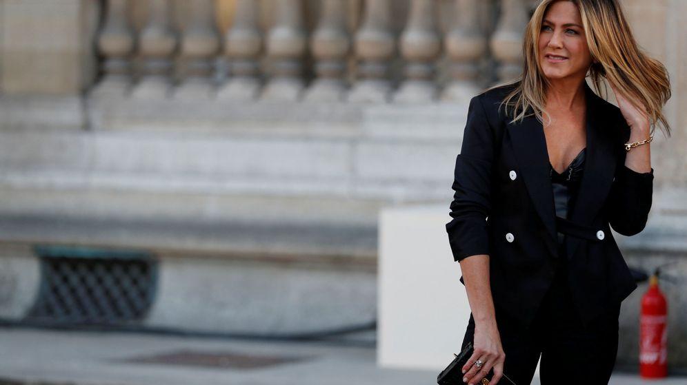 Foto: Jennifer Aniston en la cena de Louis Vuitton en París. (Reuters)