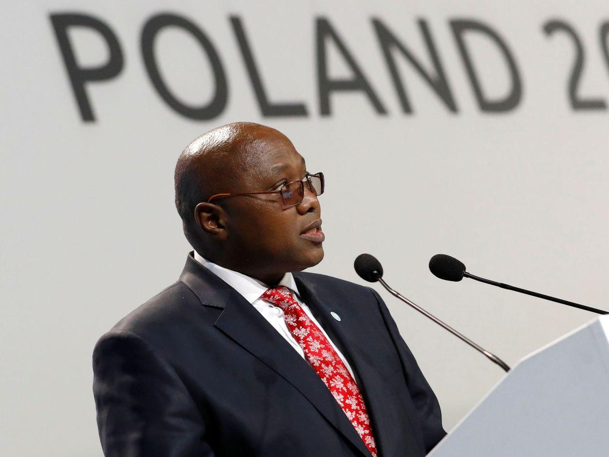 Foto: Ambrose Dlamini, en una foto de archivo. (Reuters)