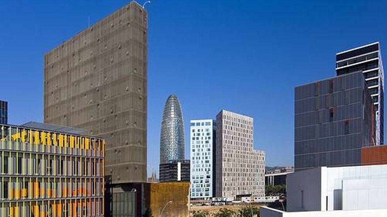 imagen del distrito barcelonés de la innovación 22@. (Grupo Castellví)