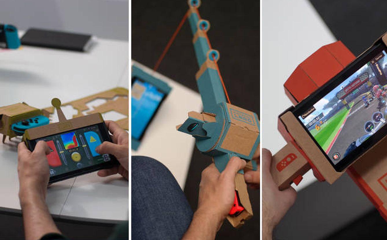 Foto: Nintendo Labo: el cartón es lo más rompedor del siglo XXI