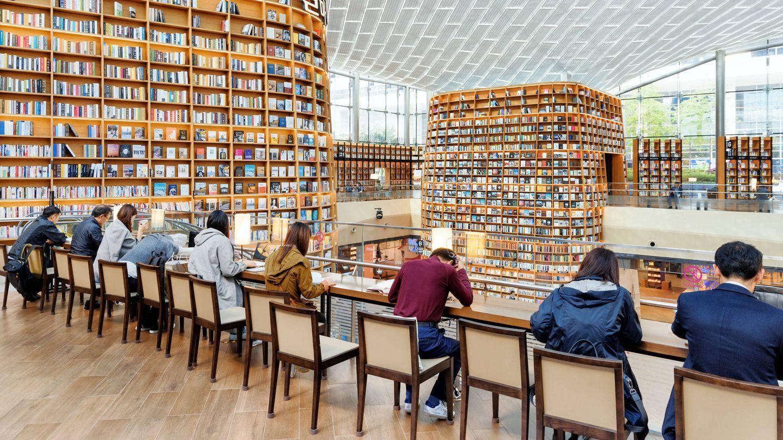 Starfield Library, Seoul. (iStock)