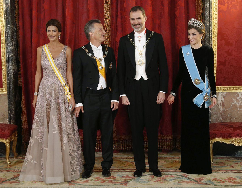 Гала-ужин в честь президента Аргентины в Испании