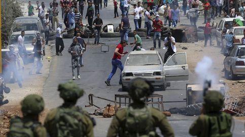 Un palestino muere por disparos de un civil israelí
