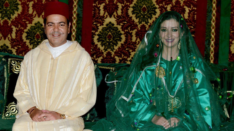 La boda de Mulay Rachid y Lalla Oum. (EFE)