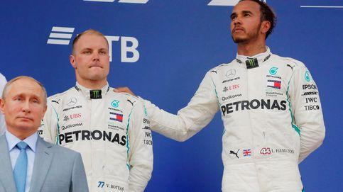 Fórmula 1: Victoria de Hamilton para hundir más a Vettel con Alonso 14º y Sainz 17º