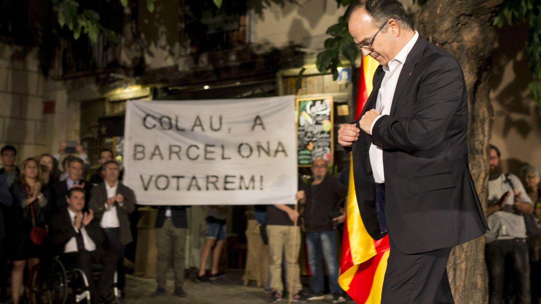 El conseller de Presidència de la Generalitat, Jordi Turull, fue un invitado de honor en la boda. (EFE/Quique García)