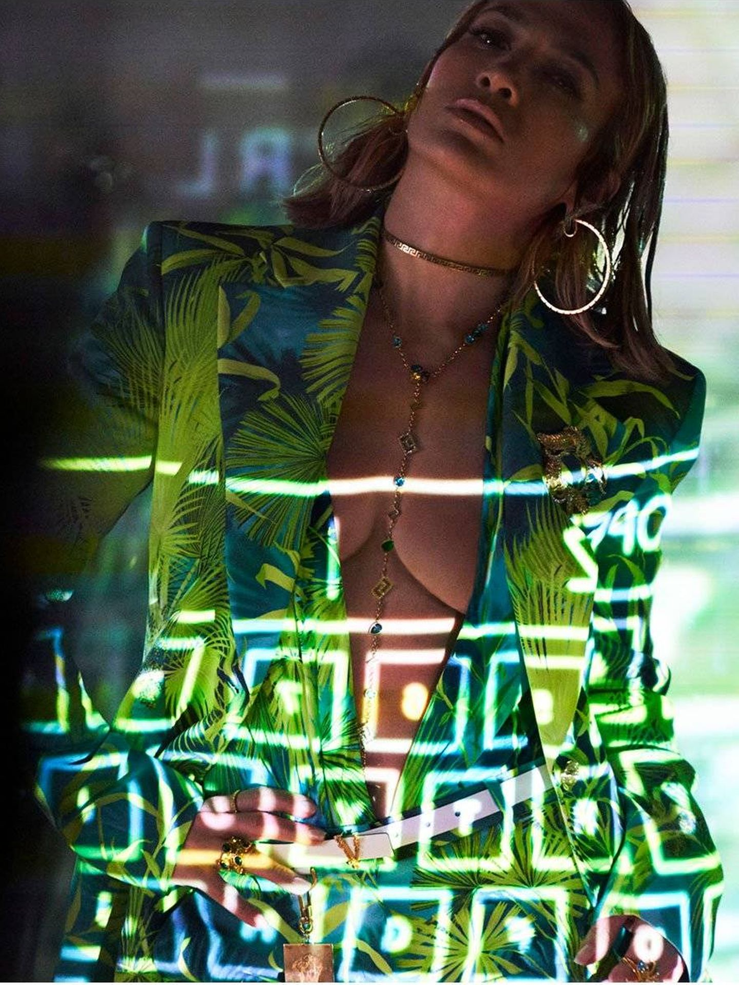 JLo. (Versace)
