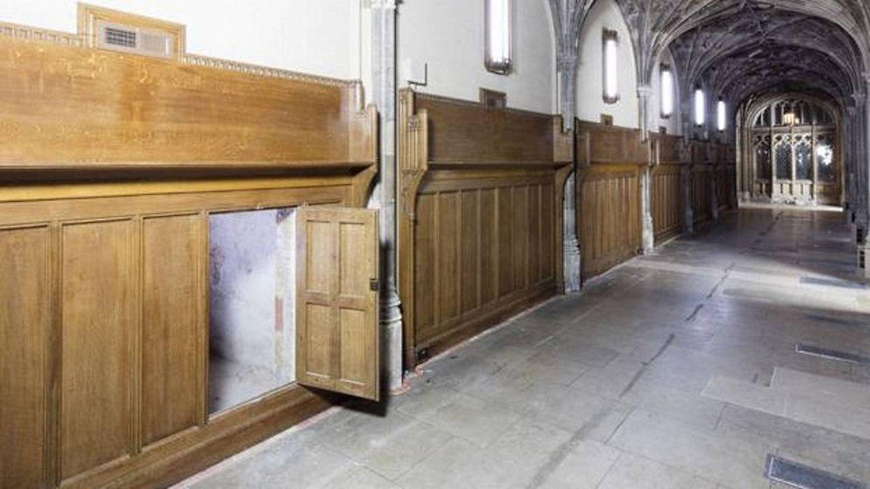 Hallan un pasadizo secreto de hace cinco siglos en pleno palacio de Westminster