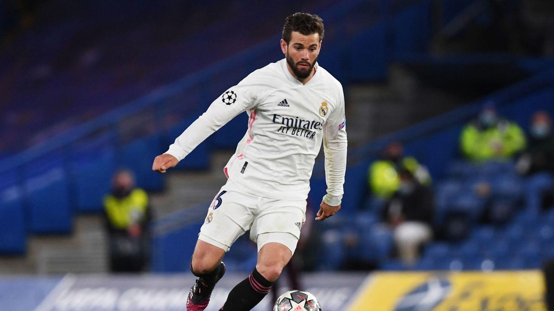 Nacho, uno de los jugadores más en forma del Madrid en los últimos meses. (EFE)