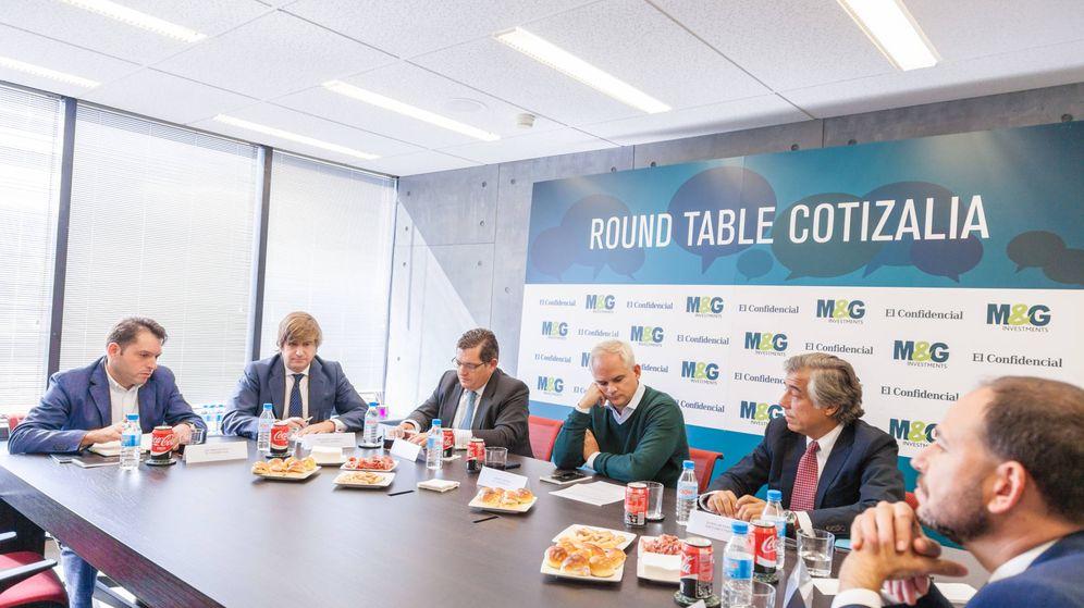 Foto: Los expertos de Cotizalia en la Roundtable