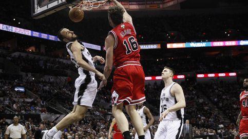 El quinto 'doble-doble' consecutivo de Pau no evita que los Bulls caigan