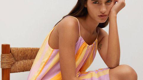 Mango arrasa en ventas con un vestido multicolor e ideal para vacaciones