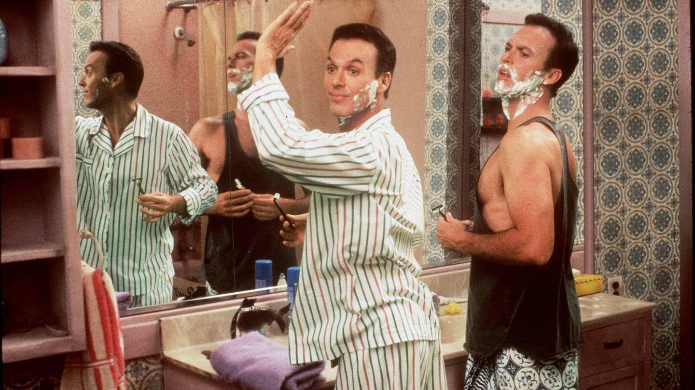Keaton en la comedia 'Mis dobles, mi mujer y yo'. (Getty)