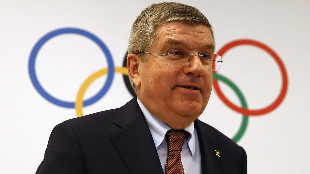 Foto: Thomas Bach, presidente del Comité Olímpico Internacional (COI).