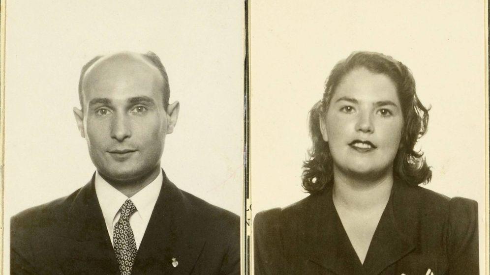 Foto: Juan Pujol 'Garbo' y Araceli González (Archivos Nacionales Ingleses)