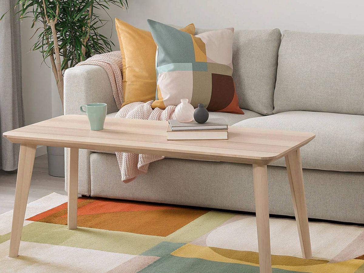 Foto: Cojines de Ikea para cambiar la decoración de tu hogar. (Cortesía)