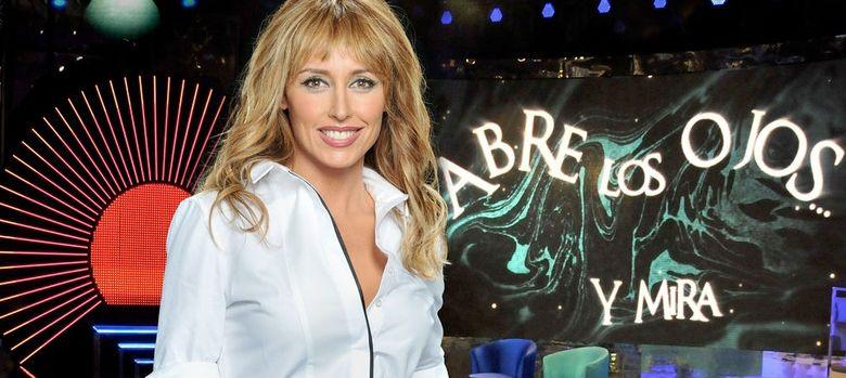 Foto: La presentadora Emma García (Telecinco)
