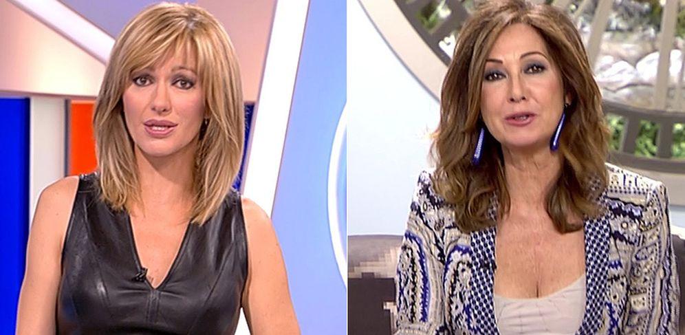 Foto: Susana Griso ('Espejo público') y Ana Rosa Quintana ('El programa de AR').