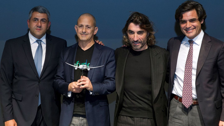 Javier Hidalgo, en el centro de la imagen. (EFE)