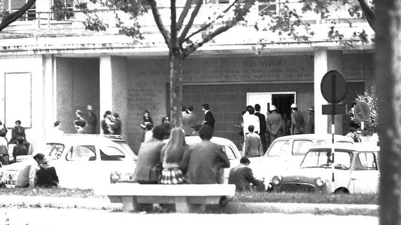 Universidad Complutense de Madrid en mayo de 1968. (Archivo Alcázar)